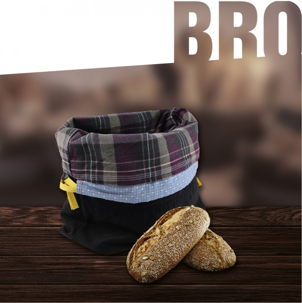 BRONSON® BRO Upcycling Brotbeutel